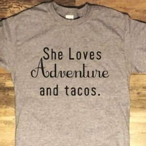 Tops - Short Sleeve Tee • She Loves Adventure and Tacos